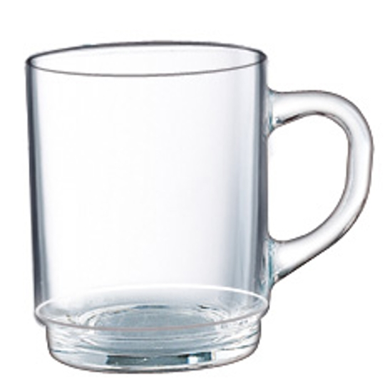 Kubek szklanka Arcoroc BOCK szkło sodowe 250ml zestaw 6szt. - Hendi E7104