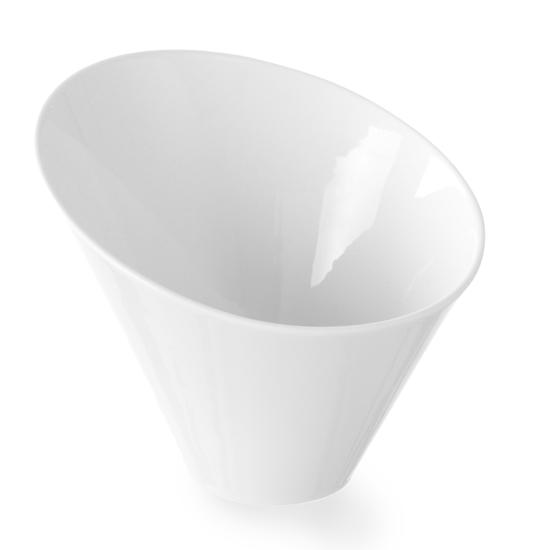 Miseczka dekoracyjna skośna porcelana 138x138x118mm - Hendi 785652