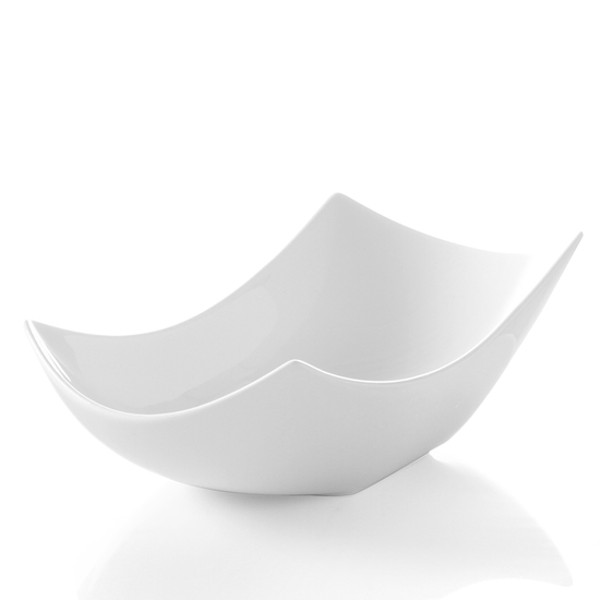 Miseczka dekoracyjna Vanilla biała porcelana 290x136x80mm - Hendi 785577