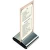 Podstawka stojak pod kartę menu stalowy nierdzewny zestaw 6szt - Hendi 665251