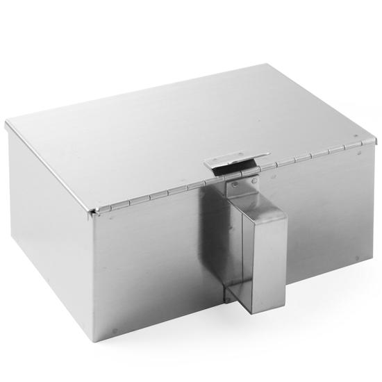 Pojemnik na popiół z podnoszoną pokrywką - Hendi 440506