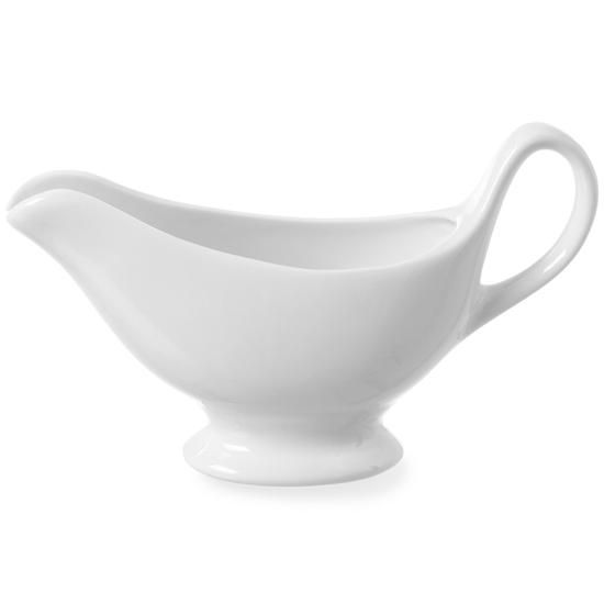 Sosjerka miseczka do sosów 180x55x130mm biała porcelana - DaVinci 786437