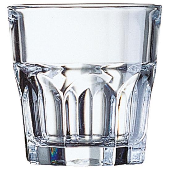 Szklanka Arcoroc GRANITY szkło hartowane 270ml zestaw 6szt. - Arcoroc J2614