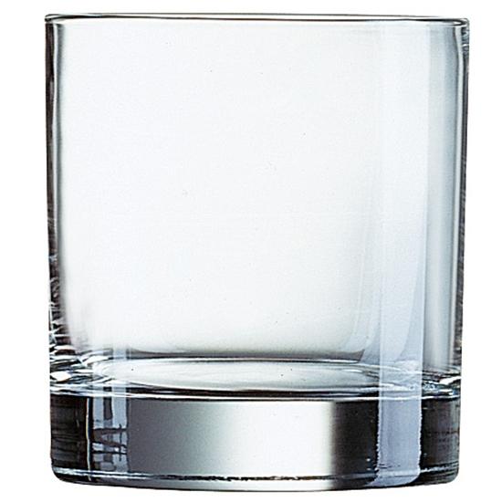 Szklanka niska Arcoroc ISLANDE szkło hartowane 200ml zestaw 6szt. - Arcoroc J4241