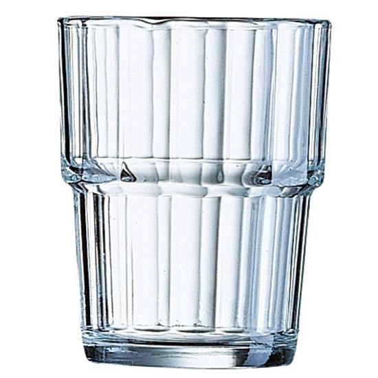 Szklanka niska Arcoroc NORVEGE szkło hartowane 200ml zestaw 6szt. - Arcoroc 60024