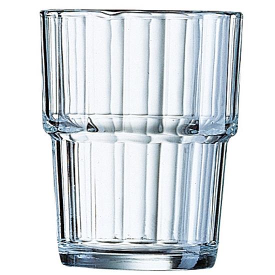 Szklanka niska Arcoroc NORVEGE szkło hartowane 250ml zestaw 6szt. - Arcoroc 61697