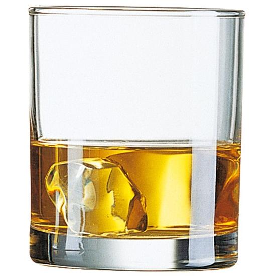 Szklanka niska Arcoroc PRINCESA szkło hartowane 230ml zestaw 6szt. - Arcoroc J4169