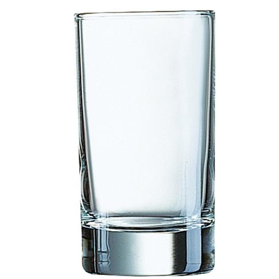 Szklanka średnia Arcoroc ISLANDE szkło hartowane 100ml zestaw 6szt. - Arcoroc J4238