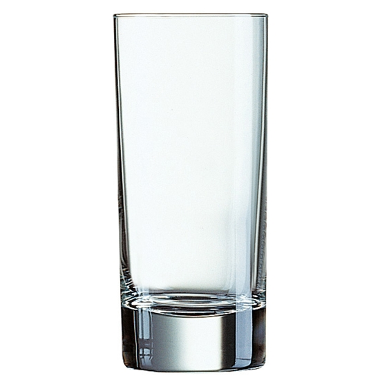 Szklanka wysoka Arcoroc ISLANDE szkło hartowane 170ml zestaw 6szt. - Arcoroc J3314