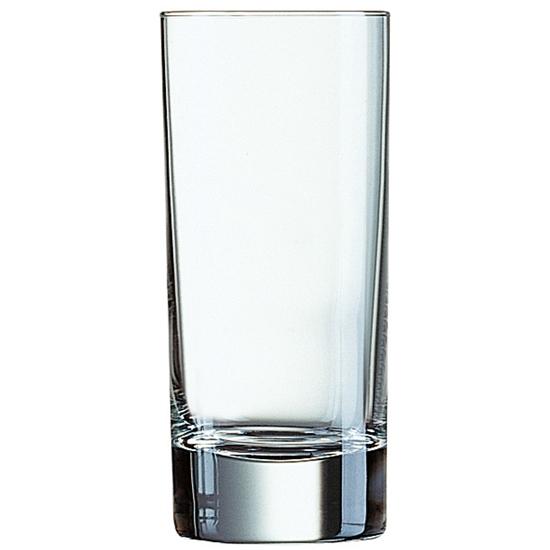 Szklanka wysoka Arcoroc ISLANDE szkło hartowane 220ml zestaw 6szt. - Arcoroc N6642