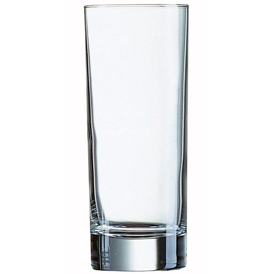 Szklanka wysoka Arcoroc ISLANDE szkło hartowane 330ml zestaw 6szt. - Arcoroc N6639