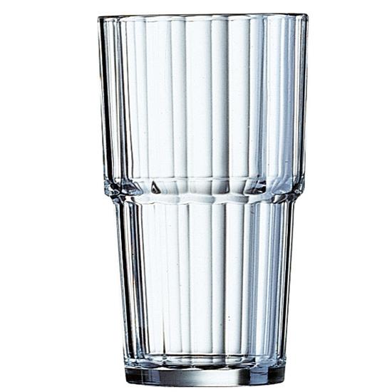 Szklanka wysoka Arcoroc NORVEGE szkło hartowane 270ml zestaw 6szt. - Arcoroc 60440