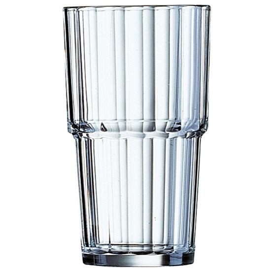 Szklanka wysoka Arcoroc NORVEGE szkło hartowane 320ml zestaw 6szt. - Arcoroc 61698