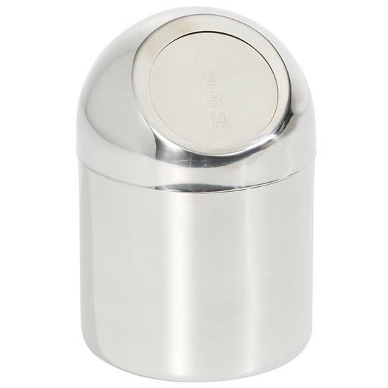 Śmietniczka stołowa pojemnik na stół na odpadki śr. 120mm stal nierdzewna - Hendi 421550