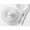 Talerz głęboki do zupy OPTIMA biała porcelana śr. 220mm zestaw 12szt. - Hendi 770863