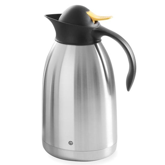 Termos dzbanek termiczny cateringowy do herbaty stalowy podwójne ścianki stalowy 2L - Hendi 446720