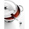 Waza na zupę z pokrywką i chochelką ze stali nierdzewnej 2.7L - Hendi 434208