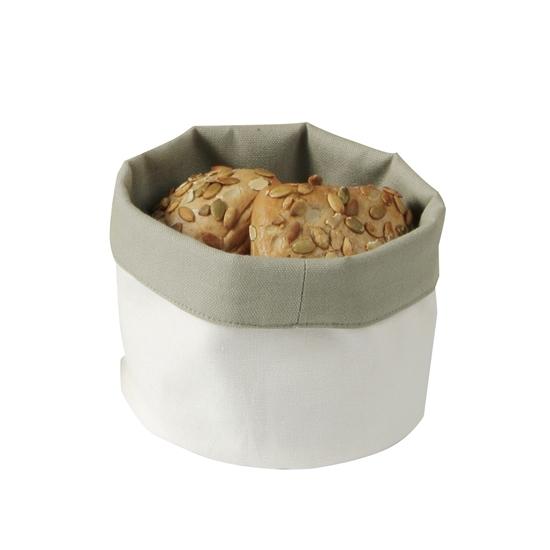Koszyk worek do pieczywa okrągły śr. 15cm beżowy - Hendi 429006