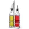 Zestaw stołowy butelki z koszykiem do oliwy i octu winnego 2 x 237ml - Hendi 460245