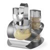 Zestaw do przypraw ze stali nierdzewnej sól pieprz musztarda - Hendi 465332