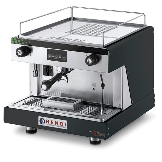 Ekspres kolbowy do kawy Top Line by WEGA 1 grupowy elektroniczny czarny 2.9kW