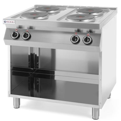 Kuchnia elektryczna wolnostojąca na podstawie stalowej 4 x 2.6kW szer. 80cm
