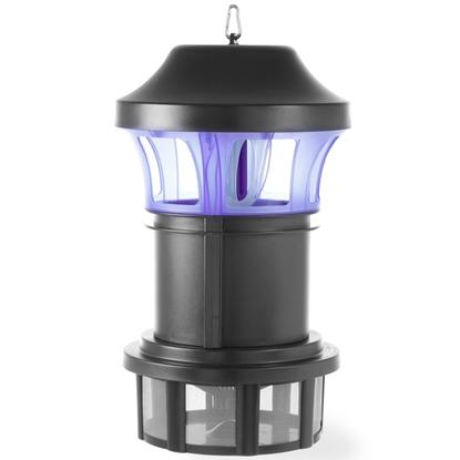 Lampa owadobójcza UV-A wodoodporna z wentylatorem 30W 300m2