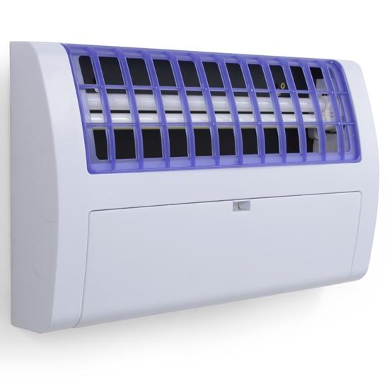Lampa owadobójcza UV-A z taśmą klejącą 120m2 36W