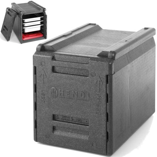Pojemnik termoizolacyjny cateringowy termos do transportu żywności PP GN1/1 66L