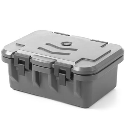 Pojemnik termoizolacyjny cateringowy termos do żywności szczelny LDPE GN1/1 150mm