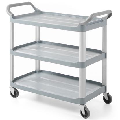 Wózek kelnerski cateringowy 3-półkowy do 103kg