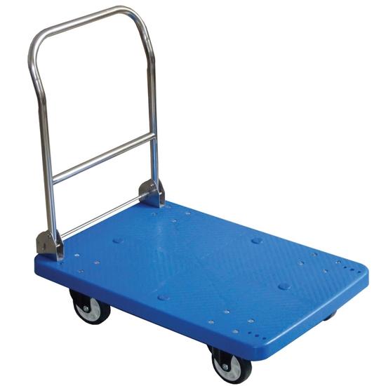 Wózek platformowy transportowy ze składanym uchwytem 73x48cm do 150kg