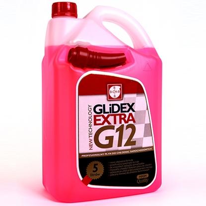 Płyn do chłodnic G12 GLIDEX EXTRA do -35C z atestami DAF - MB - 325.3 5L