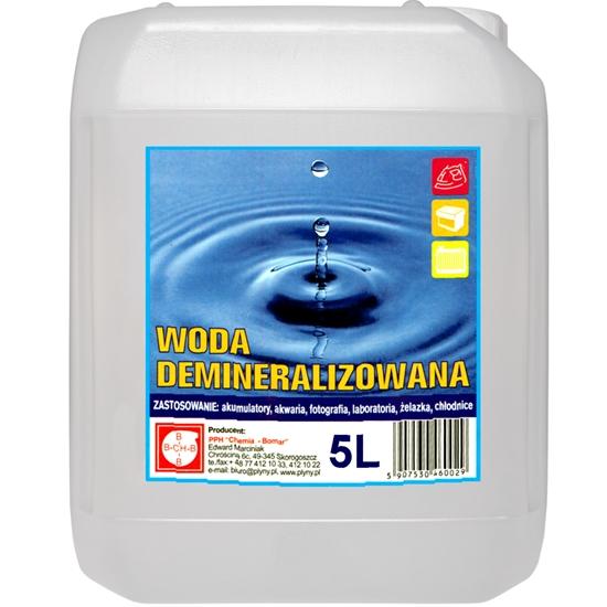Woda demineralizowana destylowana 5L