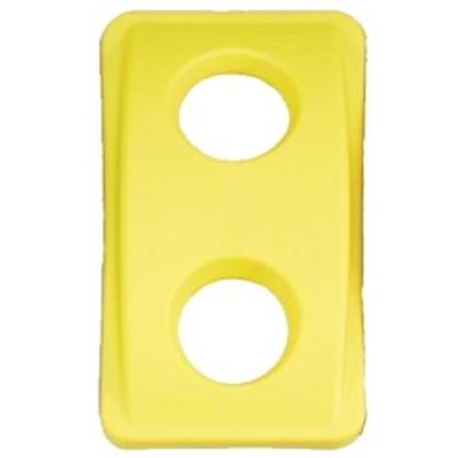 Pokrywa do pojemnika Rubbermaid SLIM JIM  żółta