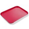 Mała taca tacka do serwowania Fast Food z polipropylenu CZERWONA Hendi 878712