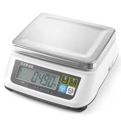 Waga kuchenna z legalizacją do 15 kg 2g / 5g CAS Hendi 580431