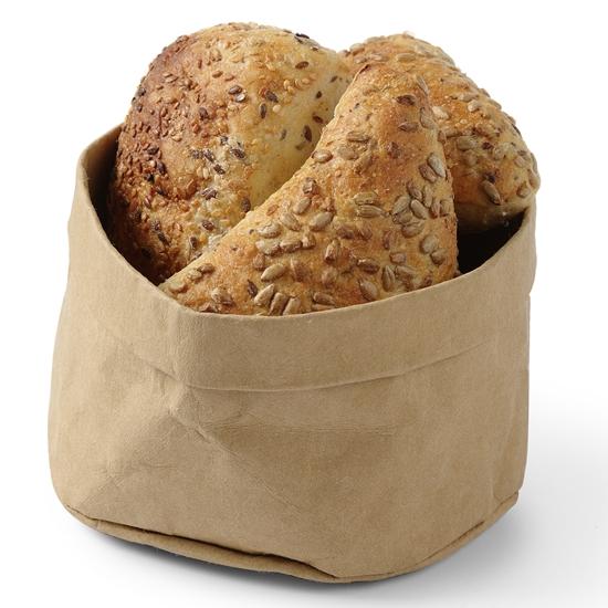 Torba papierowa kraft na pieczywo chleb Beżowa Hendi 429228