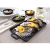 Rondelek okrągły Little Chef Mini do prezentacji potraw 189x147mm Hendi 564530