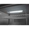 Witryna chłodnicza przeszklona nastawna 58L 2 półki biała ARKTIC Hendi 233610