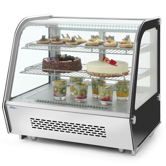 Witryna chłodnicza ekspozycyjna nastawna 120L 2 półki ARKTIC Hendi 233702