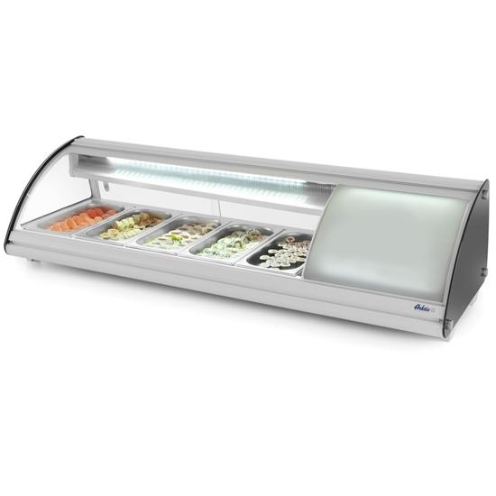 Witryna chłodnicza ekspozycyjna do sushi 5x GN 1/3 ARKTIC Hendi 233757