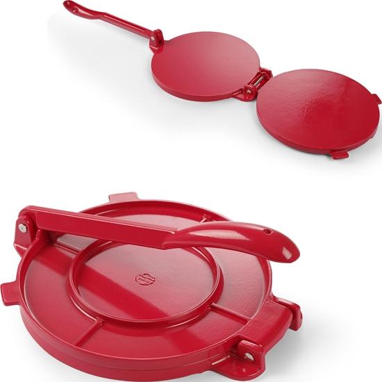 Ręczna prasa do tortilli 250mm czerwona Hendi 513033