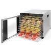 Suszarka do żywności grzybów ziół owoców 10 rusztów Profi Line Hendi 229026