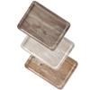 Taca tacka do serwowania z nadrukiem drewna jasny dąb 370x530mm Hendi 508930