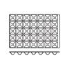 Foremki silikonowe nieprzywierające do pieczenia PYRAMIDE 600x400mm Hendi 676264
