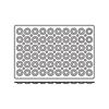 Foremki silikonowe nieprzywierające do pieczenia MINI TARTELETTE 600x400mm Hendi 676240