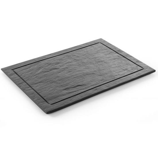 Płyta taca łupkowa prostokątna do prezentacji dań 600x300mm Modern Hendi 423851