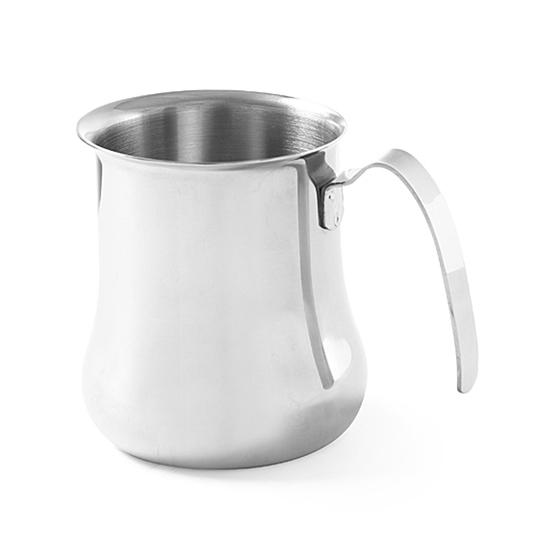 Dzbanek stalowy do spieniania mleka śr.85x(H)110mm 500ml Hendi 458211