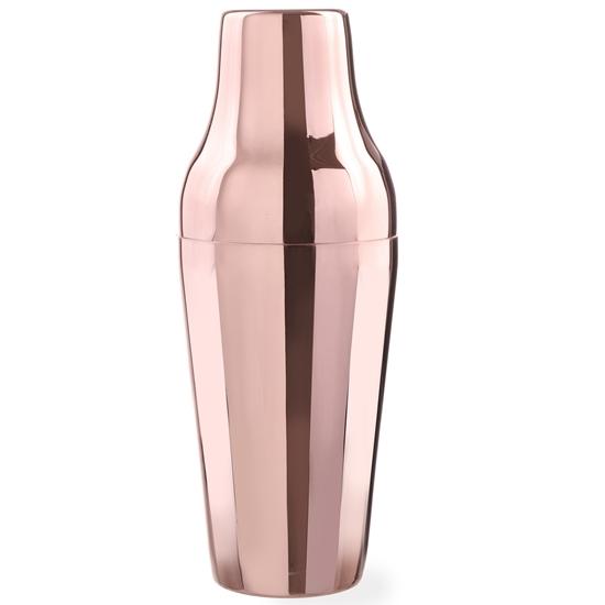 Shaker naczynie do drinków koktajli francuski miedziany 600ml Hendi 593301